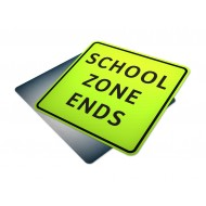 School Zone Ends