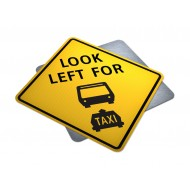 Look Left For Taxi