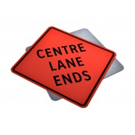 Center Lane Ends