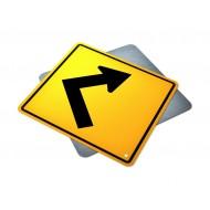 Single Right Sharp Turn