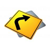 Single Right Turn Curve