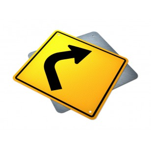 Single Right Turn Curve