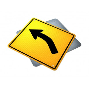 Single Left Turn Curve