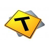 """T"" Intersection Sign"