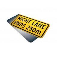 Lane Ends 250m