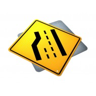 Road Narrows - Loss of Lane