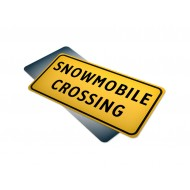 Snowmobile Crossing