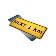 Next __ km