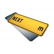 Next __ m