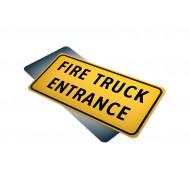 Fire Truck Entrance