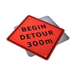 Begin Detour __ m