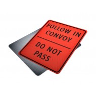 Do Not Pass Follow In Convoy
