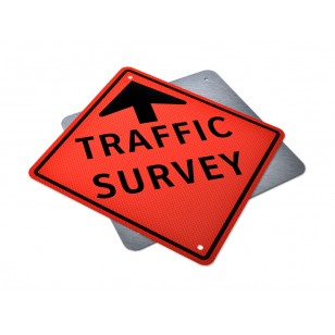 Traffic Survey Ahead