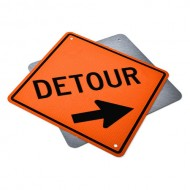 Detour Ahead Right