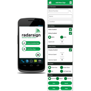 Radarsign® Android App