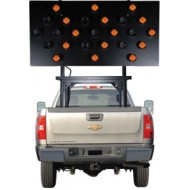 "Silent Sentinel Vehicle-Mounted Arrow Boards - Type B1 (30""x60"") 25 Lamp LED"