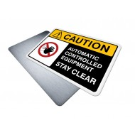 Automatic Controlled Equipment (Stay Clear)