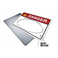 Custom Danger w/Message