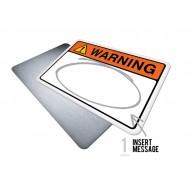 Custom Warning w/Message