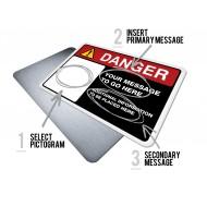 Custom Danger w/Pictogram