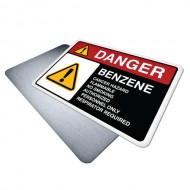 Benzene Cancer Hazard Flammable No Smoking