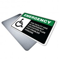 Building Has Emergency Evacuation Plan for Disabled Persons
