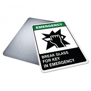 Break Glass for Key in Emergency