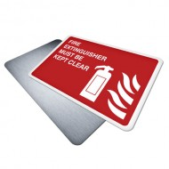 Fire Extinguisher Must be Kept Clear