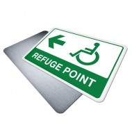 Disabled Refuge Point (Left)