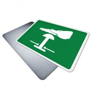 Push Button for Emergency Stop (Pictogram)
