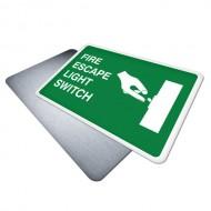 Fire Escape Light Switch
