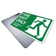 Fire Exit Only (Alarmed Door)