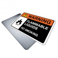Flammable Liquids, No Smoking