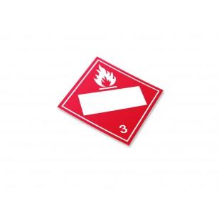 Class 3 - Flammable Liquids (Large Custom)