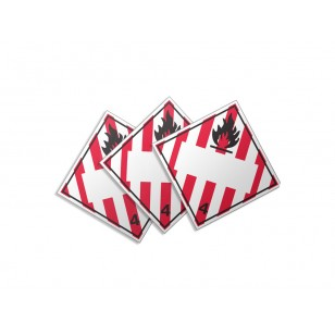 Class 4.1- Flammable Solid (Large Custom)