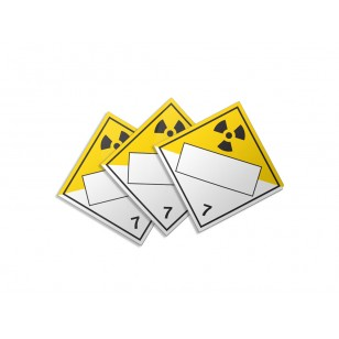 Class 7 - Radioactive Material (Large Custom)
