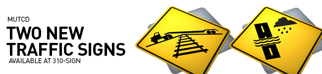 Two New Traffic Signs in Canada, Now Available at 310-SIGN