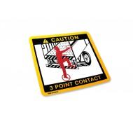 3 Point Contact Label (alt)