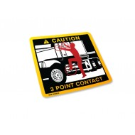 3 Point Contact Label