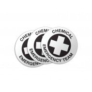 Chemical Emergency Team Stickers - 50/Pack