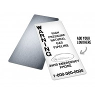 Pipeline Warning Sign (Small)