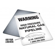 Pipeline Warning Sign (Large)