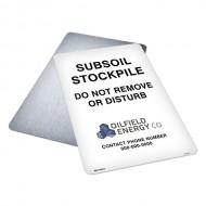Subsoil Stockpile