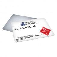 Wellhead UWI Sign