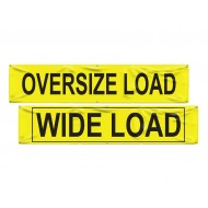 "Wide Load/Oversize Load Banner (18""x84"")"