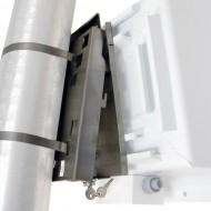 Locking Pole Mount Bracket Set