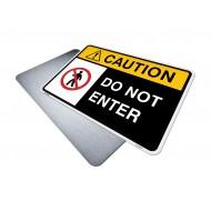 Do Not Enter Safety Sign