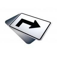 Advance Right Sharp Turn Arrow