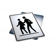 Right Side School Crosswalk