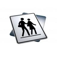 Left Side School Crosswalk